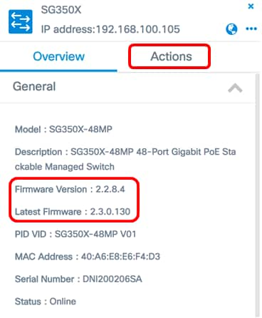 Upgrade Network Devices to the Latest Version through FindIT