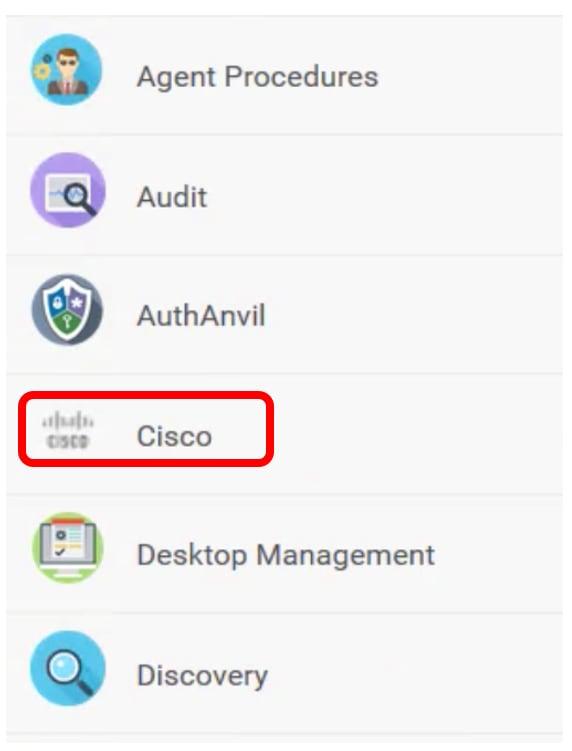 Install and Uninstall the Cisco FindIT Kaseya Plugin - Cisco