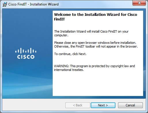 How to Install and Setup Cisco FindIT Network Discovery