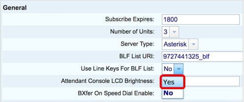 Configure and Monitor the Line of a Coworker via BLF on the Cisco IP