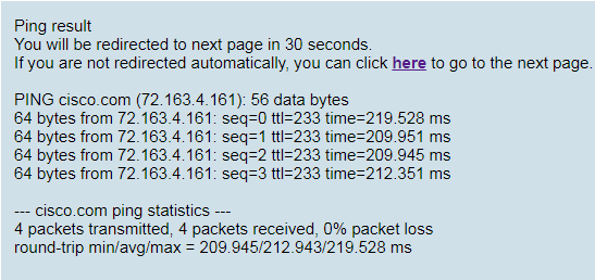 How to do a Remote Ping Test on the Cisco IP Phone 7800 and
