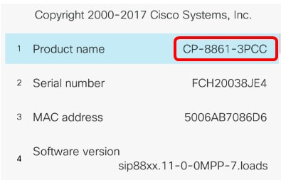 Upgrade the Firmware on the Cisco IP Phone 7800 and 8800