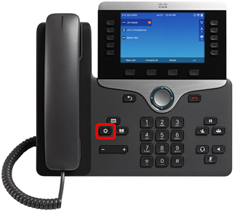 Configure a Bluetooth Device on a Cisco IP Phone 8800 Series