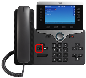 Set up Voicemail on a Cisco IP Phone 8800 Series