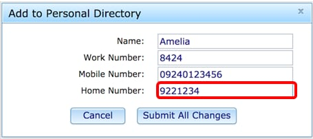 manage contacts for your personal directory on a cisco ip phone 8800