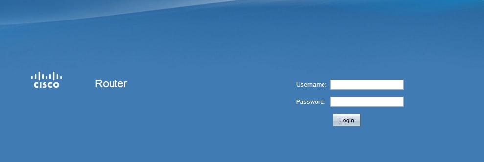 Access the Web Configuration Utility on RV016, RV042, RV042G
