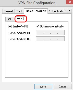 Configuration of Shrew VPN Client on RV042, RV042G and RV082