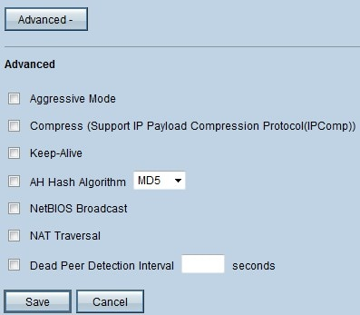 VPN-tunnelinstellingen op RV016, RV042, RV042G en RV082 VPN ...