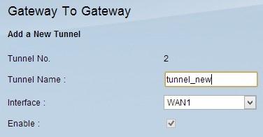 Configuration de passerelle  la passerelle VPN sur les routeurs ...