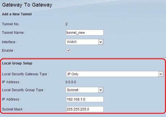 Configuration of Gateway to Gateway VPN on RV016, RV042, RV042G and