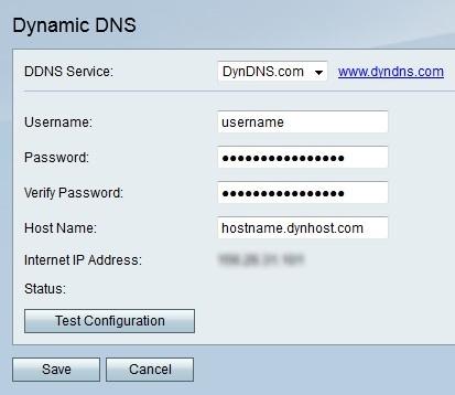 Dynamic DNS Configuration on RV215W - Cisco