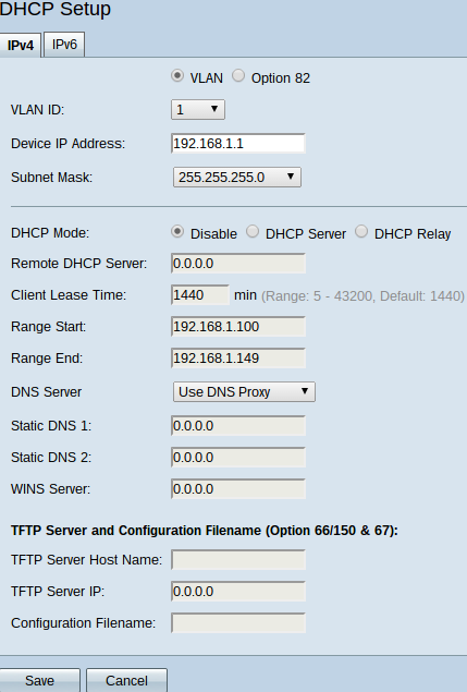 DHCPv4 Configuration and Monitoring on RV32x VPN Router