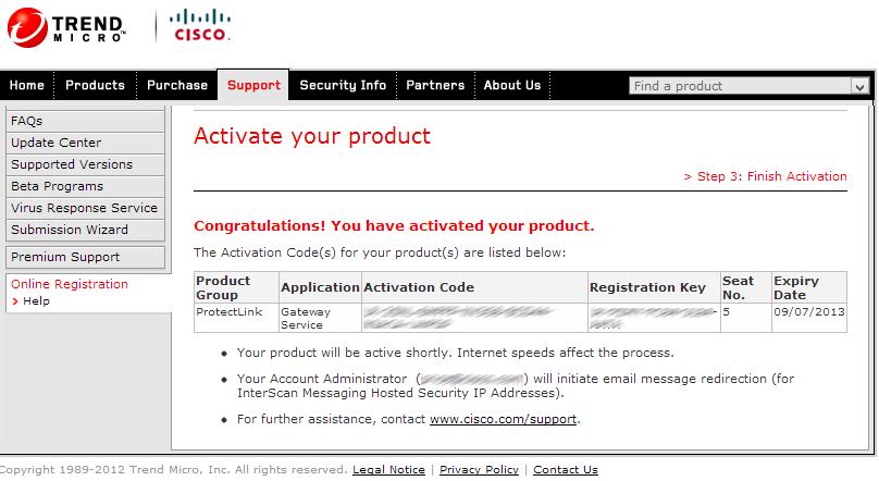 activation code ip