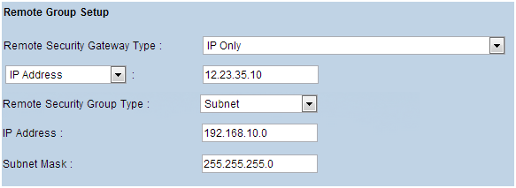 Configuring a Site-to-Site VPN Tunnel Between RV Series