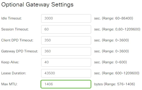 Configure AnyConnect Virtual Private Network (VPN