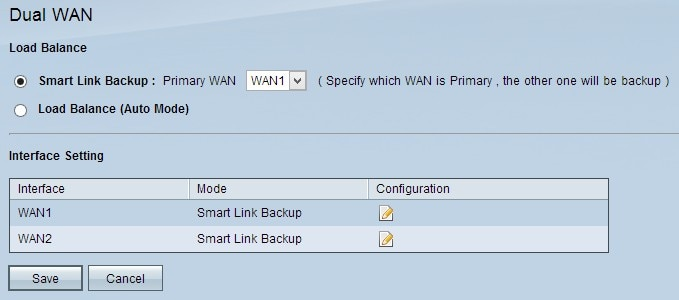 Set Up Dual WAN Connections on RV042, RV042G and RV082 VPN