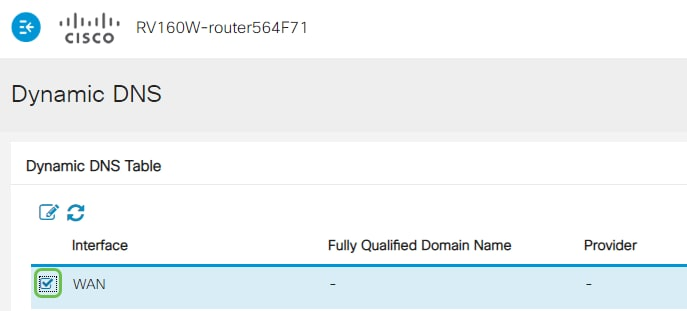 Configuring Dynamic DNS on the RV160 and RV260 Routers - Cisco
