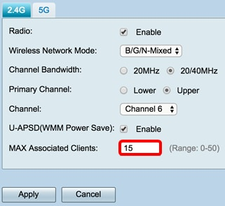 Configure Basic Wireless Settings on the RV340W Router - Cisco