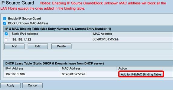 configure ip source guard on the rv34x series router cisco rh cisco com