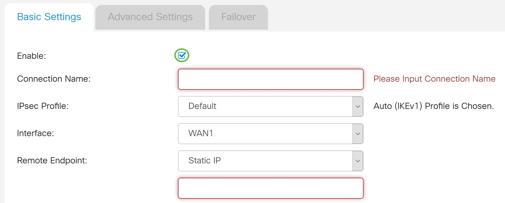 Configure a Site-to-Site Virtual Private Network (VPN