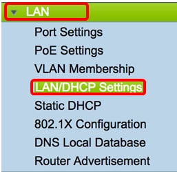 Configure the LAN and DHCP Settings on the RV34x Series Router - Cisco