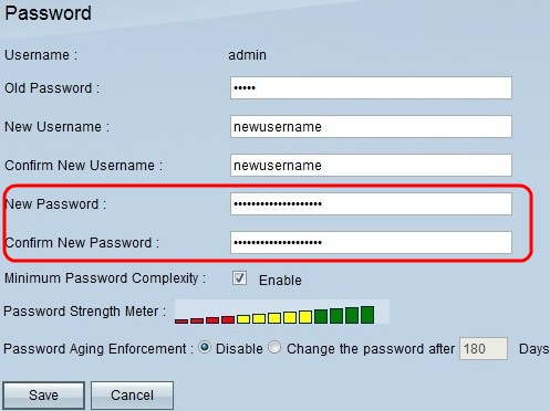Setup New Username and Password on the RV016 VPN Router - Cisco