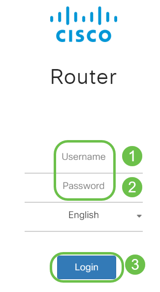 Log in to the web-configuration utility of the router using the credentials you have configured.