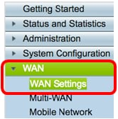 Configure Static IP WAN Settings on the RV34x Router - Cisco