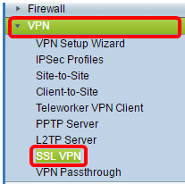 Configure Secure Sockets Layer Virtual Private Network (SSL