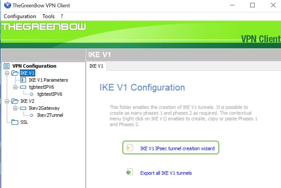 Estabelecer e cliente do IPSec VPN de TheGreenBow do uso para