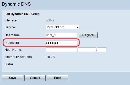 Configure Dynamic Domain Name Server on RV320 and RV325 VPN
