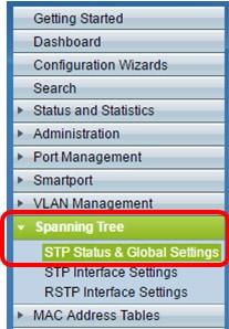 Configurar o protocolo multiple spanning-tree (MSTP) em um