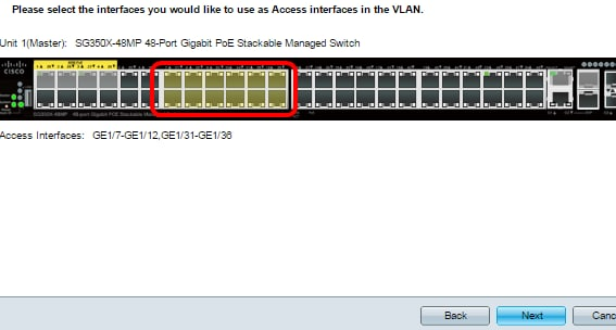 Configure Virtual Local Area Network (VLAN) Settings on a