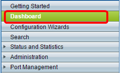 Monitor and Customize Dashboard View on a Switch - Cisco