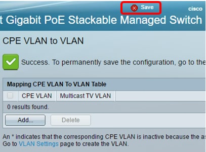 Configure Customer Premises Equipment (CPE) to a Virtual