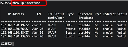 cisco check switch ip address
