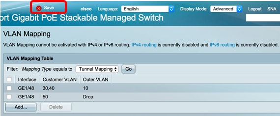 Configure VLAN Mapping on a Switch - Cisco