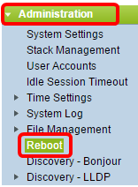How to Manually Reboot or Reset a Switch - Cisco