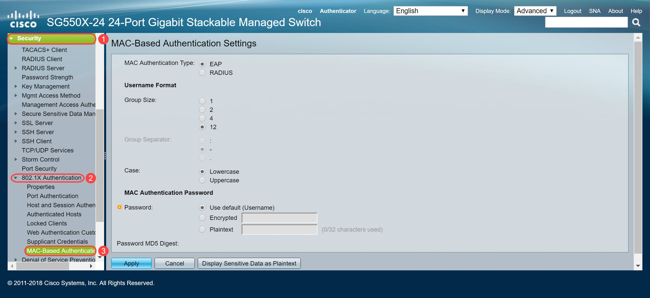 Configuring MAC-Based Authentication on a Switch - Cisco