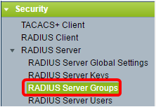 Configure Remote Authentication Dial-In User Service (RADIUS
