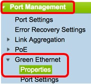 Configure Global Green Ethernet Properties on a Switch - Cisco