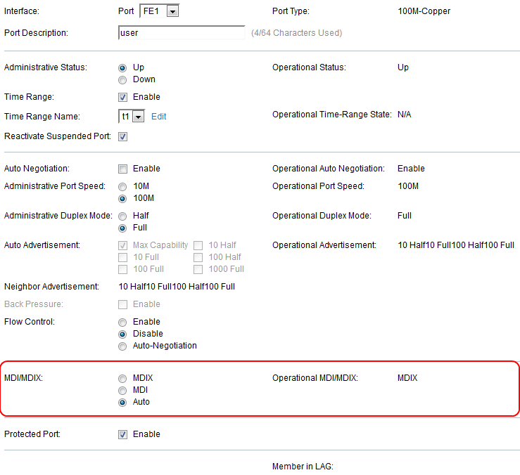 Configure Port Settings on Sx500 Series Stackable Switches - Cisco