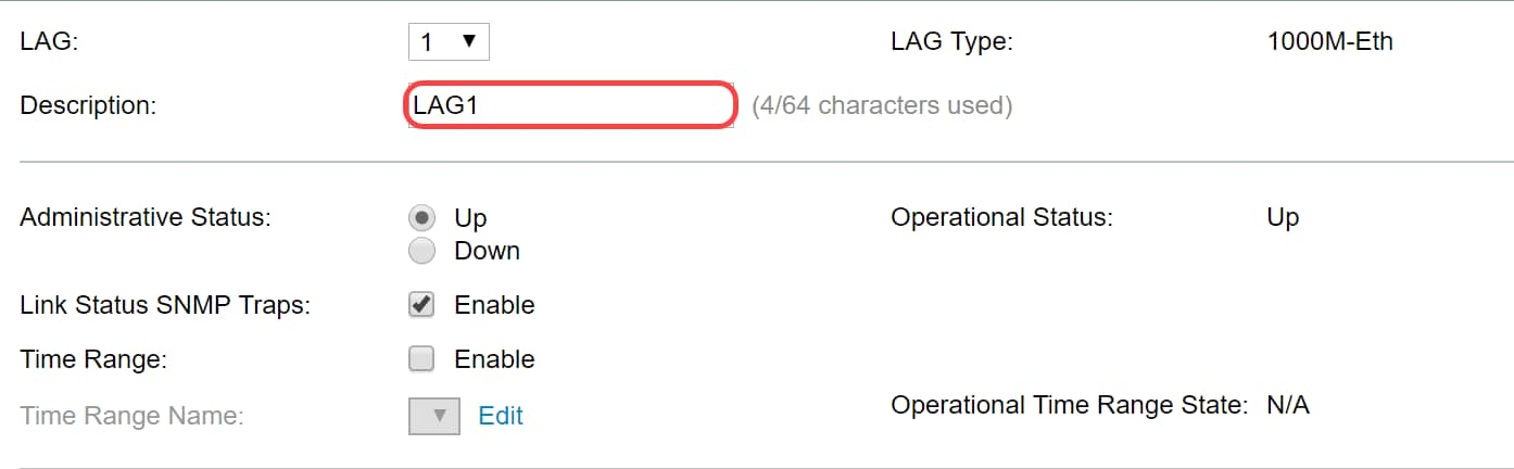 Link Aggregation Group (LAG) Management and Settings on Sx500 Series