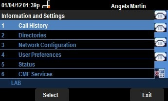 Status Messages on SPA525G/SPA525G2 IP Phones - Cisco