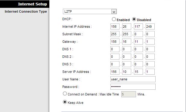 Internet Settings Configuration on WRP400 - Cisco