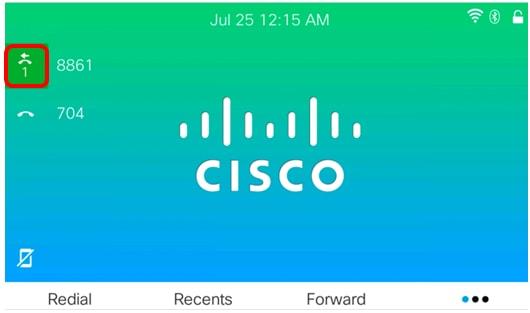Forward Calls on a Cisco IP Phone 8800 Series Multiplatform Phone