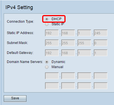 Configure IPv4 and IPv6 on a Wireless Access Point - Cisco