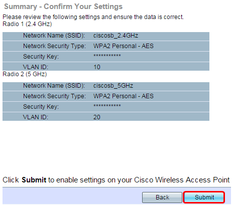 Configure SSID-to-VLAN Mapping on a Wireless Access Point