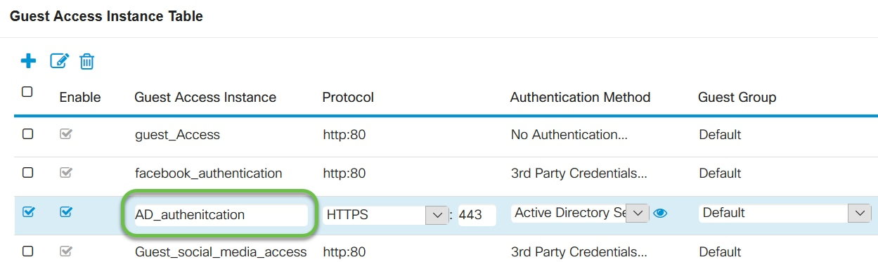 Configure Active Directory Guest Authentication on WAP125 or