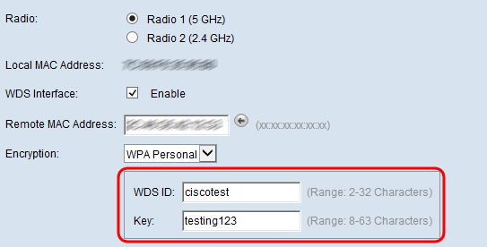 Wireless Distribution System (WDS) Configuration on WAP371 - Cisco